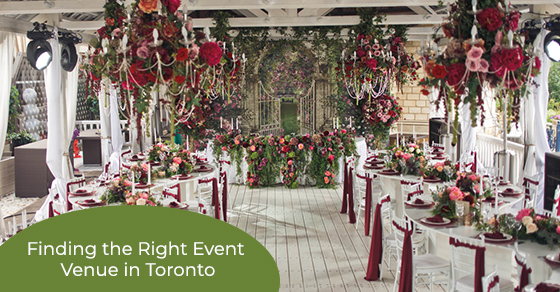 Finding the Right Event Venue in Toronto