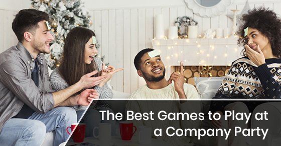The Best Games to Play at a Company Party