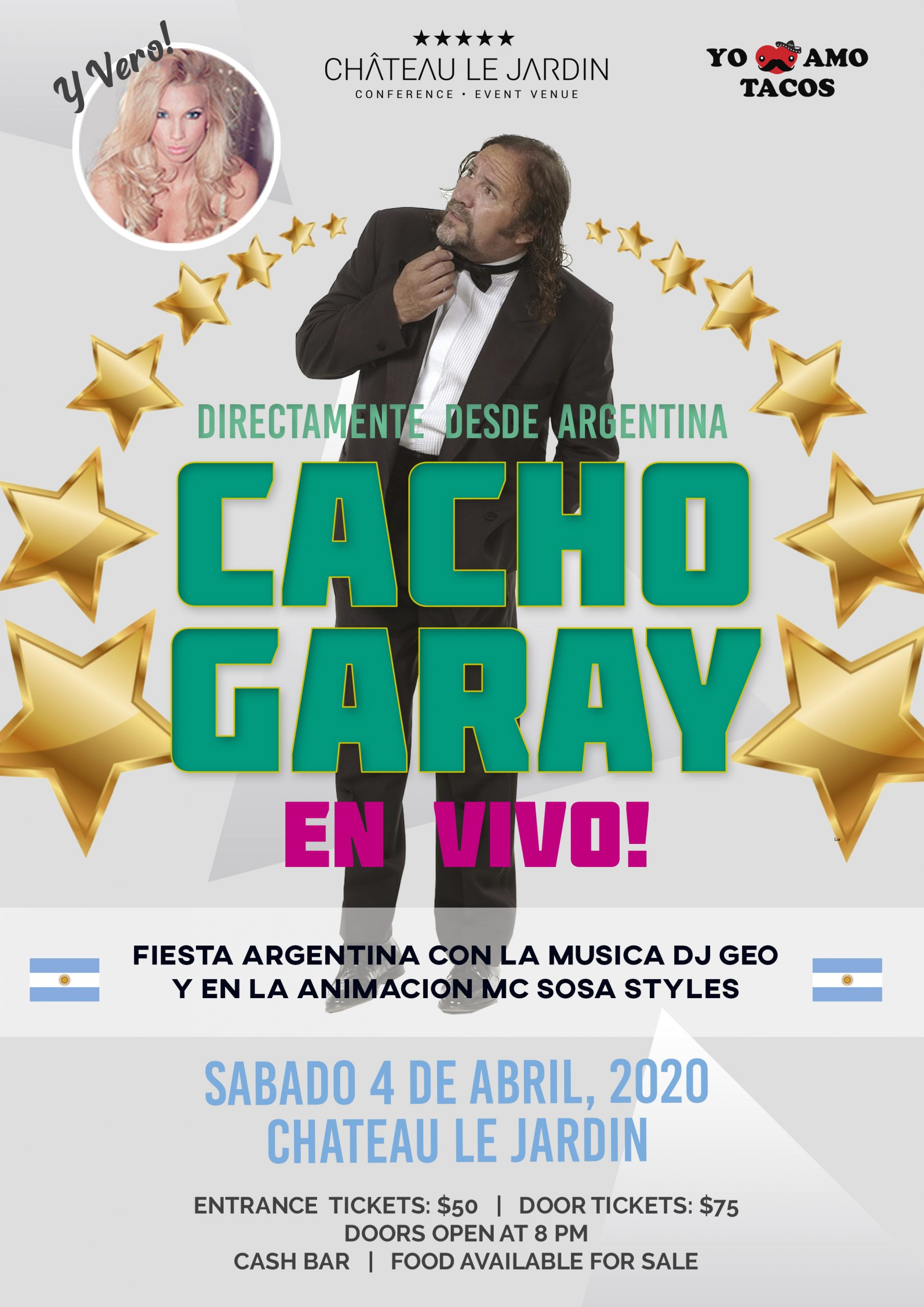 Cacho Garay en Vivo