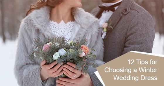 12 tips for choosing a winter wedding dress