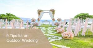 Outdoor Wedding Tips
