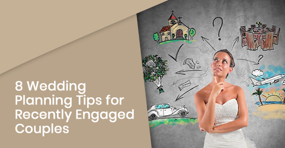Essential wedding planning tips for newly engaged couples
